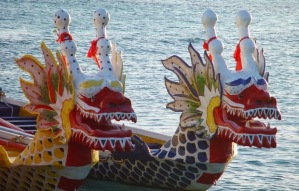 Dragon Boat Race in Thailand