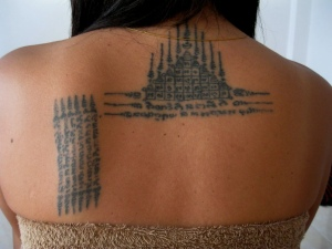 tatuaż yantra